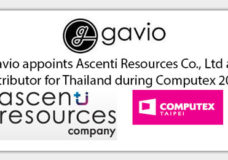 Gavio Appoints Ascenti Resources Co., Ltd as Distributor for Thailand During Computex 2015