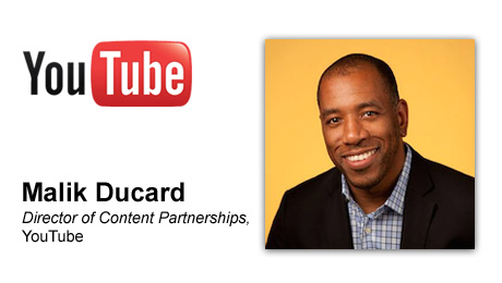 Malik Ducard, Director, of Content Partnerships, YouTube, Joins The Digital Media Licensing Summit at Licensing Expo as Opening Speaker