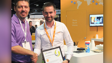 Pexip® Recognized With Global Presence Alliance Excellence Award at InfoComm 2015