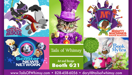 Scooter D. Pup Leads the Tails of Whimsy Show at Licensing Expo