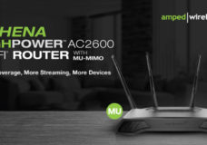 The Amped Wireless ATHENA, a Premium, HighPower™ AC2600 Wi-Fi Router with MU-MIMO is Now Available