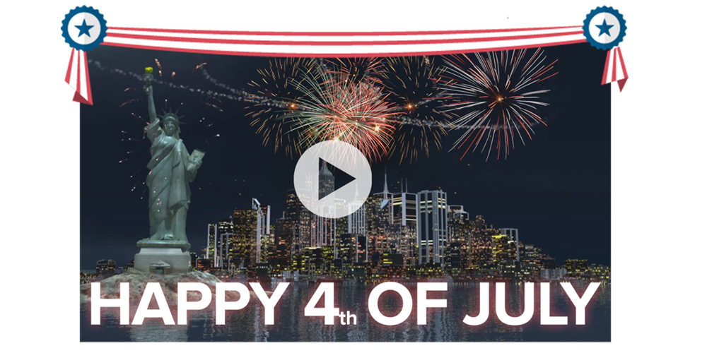 Happy 4th of July from 3DP Unlimited
