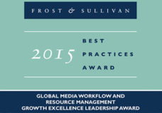 Prime Focus Technologies Earns Frost & Sullivan's 2015 Global Growth Excellence Leadership Award