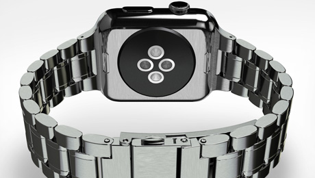 HYPER Offers HyperLink - $49 Apple Watch Stainless Steel Link Bracelet Band via Kickstarter
