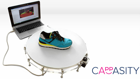 Cappasity Inc. Introduces 3D Scanning Solutions Powered by Intel RealSense 3D Cameras at IDF 2015