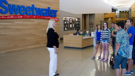 Sennheiser Tourguide Helps Sweetwater Sound Deliver Corporate Tours that Resonate Among Customers, Delivering Reliability, Intelligibility and Ease of Use