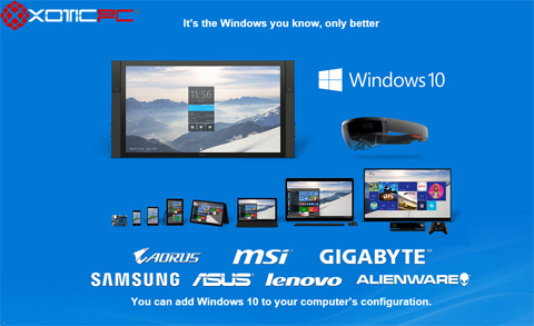 XOTIC PC, Leading Provider of Highly Customized Gaming Laptops and Desktops, Offers Gamer-Friendly Windows 10 Across Its Entire Product Line.