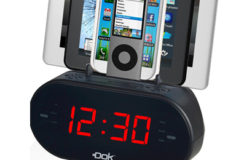 "DOK Solution Unveils CR09 - 2 Device Charger/Cradle/Clock/Speaker/Radio With ""SCD Technology"" (Smart Current Detection) - No More Overcharging"