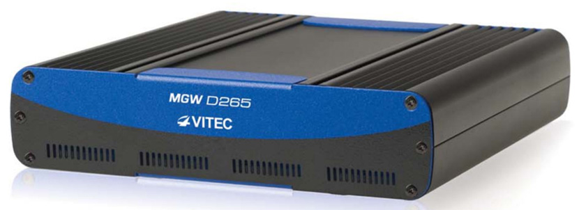 VITEC's MGW D265 Appliance Delivers Broadcast-Grade, Bandwidth-Efficient Encoding, Streaming, and Decoding From the Field.