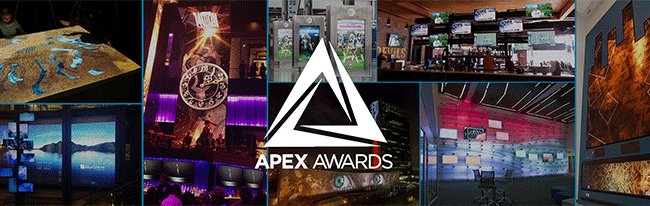Send Us Your APEX Awards Nominations Before It's Too Late. Image Courtesy: Digital Signage Expo.