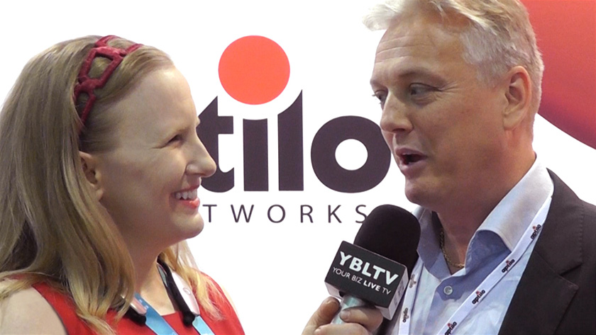 Aptilo Networks' CEO, Paul Mikkelsen chats with YBLTV Anchor, Erika Blackwell at CTIA Super Mobility Week 2015