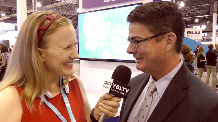 TeleCommunication Systems, Inc., President, Commercial Software Group, Jay F. Whitehurst chats with YBLTV Anchor, Erika Blackwell at CTIA Super Mobility Week 2015.