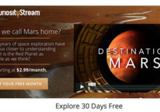 CuriousityStream Premieres Mars Programming In Anticipation of The Martian ReleaseCuriousityStream Premieres Mars Programming In Anticipation of The Martian Release