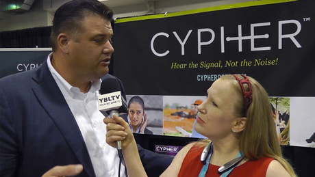 Cypher, CEO, John Walker chats with YBLTV Anchor, Erika Blackwell at CTIA Super Mobility Week 2015.