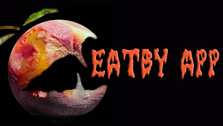 Developers of the EatBy App recommend eating flesh at Halloween!