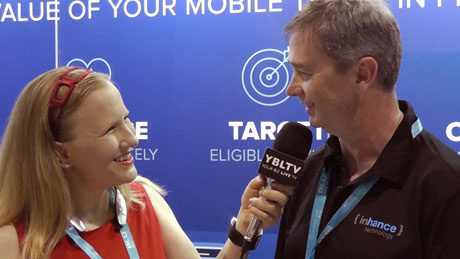 Inhance Technology, Chief Technology Officer, Peter Birmingham chats with YBLTV Anchor, Erika Blackwell at CTIA Super Mobility Week 2015.