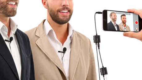 IK Multimedia Releases iRig Mic Lav - Broadcast Audio Goes Mobile