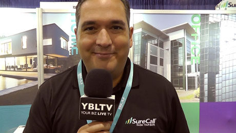 Surecall, Director of Sales, Consumer Division, Frankie Smith chats with YBLTV at CTIA Super Mobility Week 2015.
