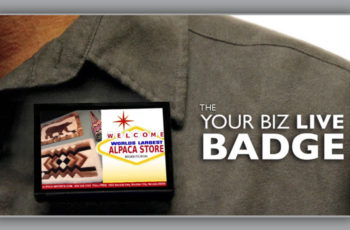 Get 10% Off Your First Order on the Your Biz LIVE Badge