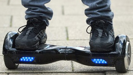 'Tis The Season To Be Hovering: Erover Mini-Segway.