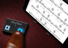 IK Multimedia unveils iRig BlueTurn - the first Bluetooth page turner with backlit buttons