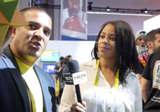 Polaroid Managing Director, Aleem Hosein speaks with YBLTV Contributing Reporter, Bianca Bledsoe at CES 2016.
