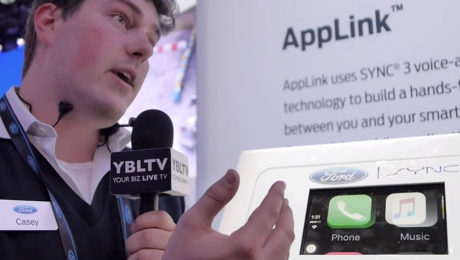 Casey Feldman, Product Designer & UI Engineer at Ford Motor Company speaks with YBLTV Contributing Reporter, Kyle Love at CES 2016