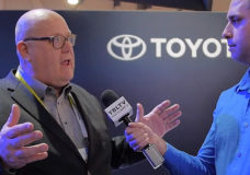 Jim Pisz, Corporate Manager North American Business Strategy, Toyota Motor Sales, USA, Inc. speaks with YBLTV Contributing Reporter, Kyle Love at CES 2016.