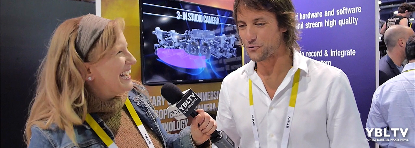 VRTIFY's Chief Marketing Officer, Marcus Behrendt chats with YBLTV Anchor, Erika Blackwell at CES 2016.