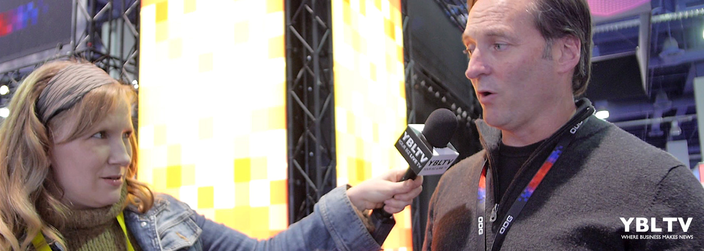 Pete Jameson, ODG's CO, Executive VP speaks with YBLTV Anchor, Erika Blackwell at CES 2016.