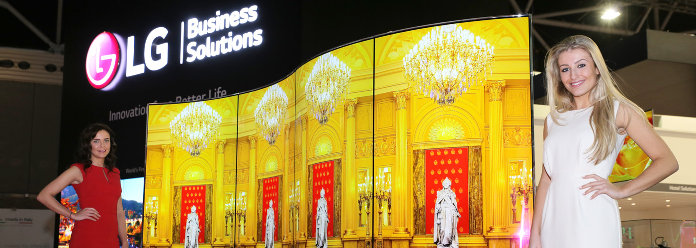 LG Electronics Debuts OLED Digital Signage, Ushers in New Era of Commercial Display Technology