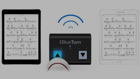 IK Multimedia's iRig BlueTurn Is Now Shipping