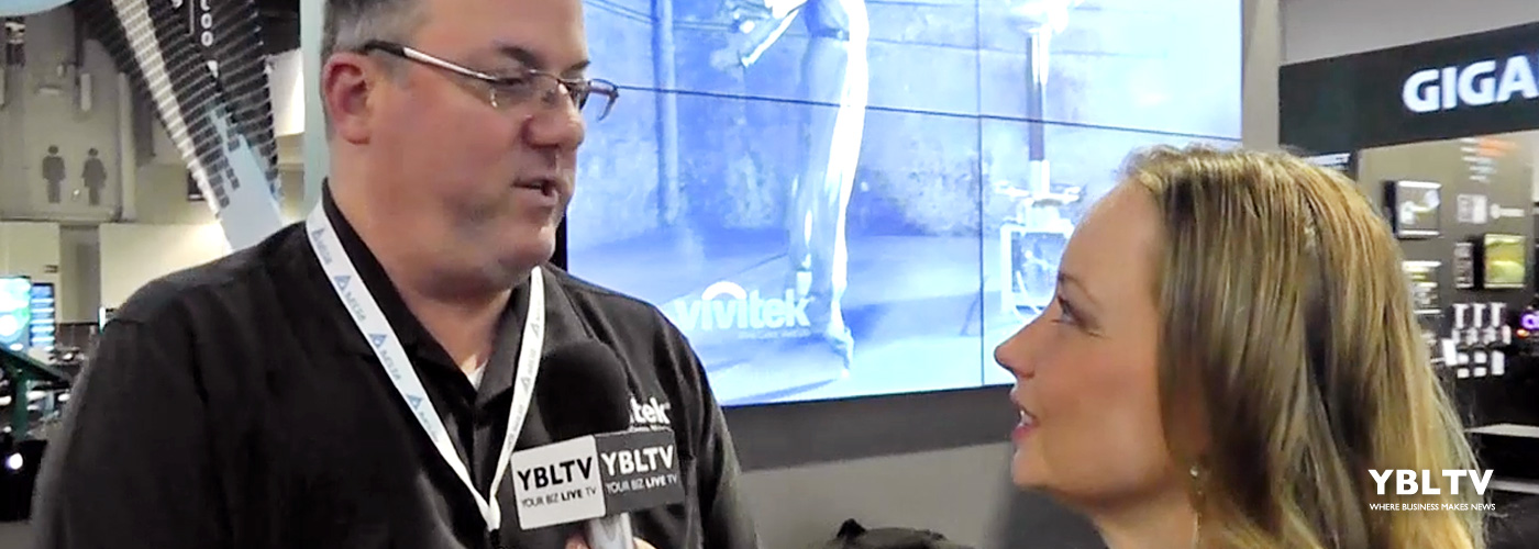 Mitch Rauch, Director of ProAV Sales speaks with YBLTV Anchor, Dawn Church at DSE 2016.