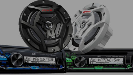 JVC's New Speakers and Receivers Make the Perfect Audio Upgrade for Marine and Motorsports Enthusiasts