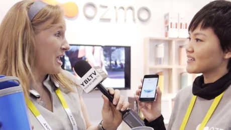 YBLTV Anchor Erika Blackwell talks with Ozmo, CEO & Founder, Serena Pau at CES 2016.