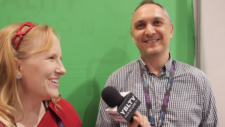 Showy, Founder & CEO, Ronen Lasry chats with YBLTV Anchor, Erika Blackwell at the 2016 NAB Show.