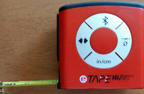 eTape16 Digital Tape Measure. Source: DIY Pipeline, YBLTV / YBL, LLC.