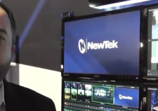 NewTek's Director of Professional Services - Sales, Will Waters at NAB 2016. Source: YBLTV / YBL, LLC.