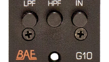 BAE Audio G10 EQ Graphic EQ Delivers Analog Versatility in the Studio