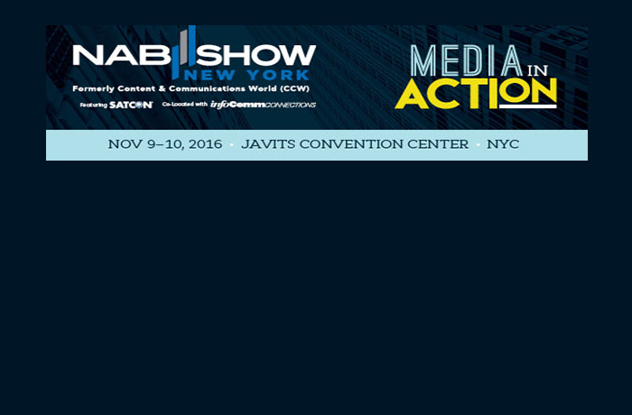 NAB SHOW NEW YORK OPENS 2016 CALL FOR SPEAKERS.