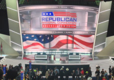 The 2016 Republican National Convention was held at the Quicken Loans Arena in Cleveland between July 18 and 21.
