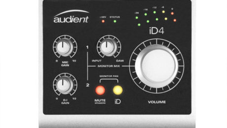 Audient Introduces New iD4 Compact Audio Interface.