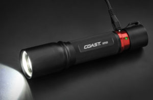 HP8R Rechargeable LED Flashlight.