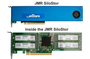 JMR Announces General Availability of SiloStor NVMe Solid State Drive Plug-in Card