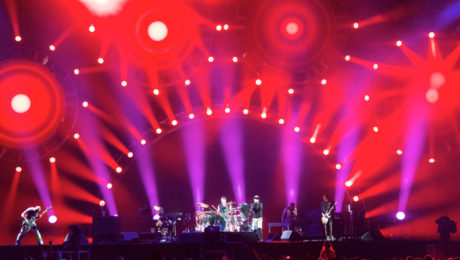 Powersoft X4 Amplifiers Deliver Customized Clarity for Red Hot Chili Peppers Tour Monitoring.