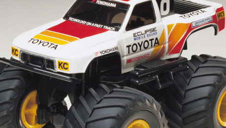 Tamiya Toyota: Wild Mini 4WD Series No.9 Toyota Hi-Lux Monster Racer Jr.