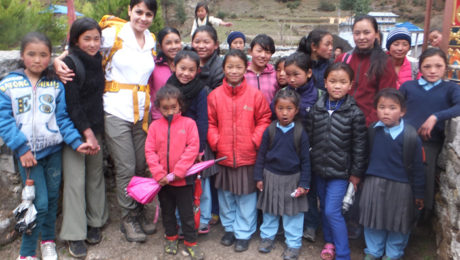 Young Humanitarian Helping Nepali Girls Survives Earthquake on Mt. Everest.