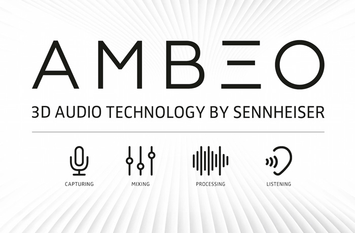 AMBEO is Sennheiser's program and trademark for 3D audio.