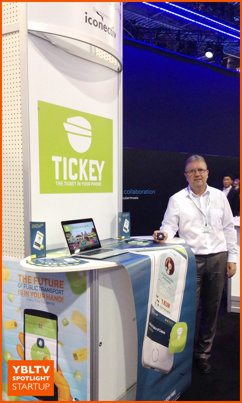 YBLTV Spotlight Startup: TICKEY Mobile Solutions LTD., Konstantin Nikolov, Business Development. CTIA Super Mobility 2016.