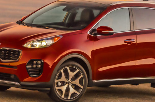 2017 Kia Sportage Wins Kelley Blue Book's KBB.COM Best Buy Award for Small SUV/Crossover.